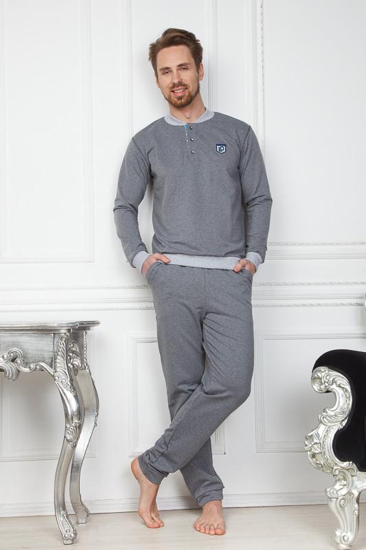 b682273b4e332 Мужской домашний серый костюм Monti купить в интернет-магазине ...