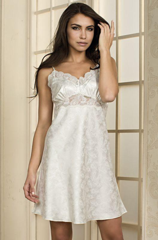 e33c0cb82904a Молочная сорочка с бантиком купить в интернет-магазине Comfortstory