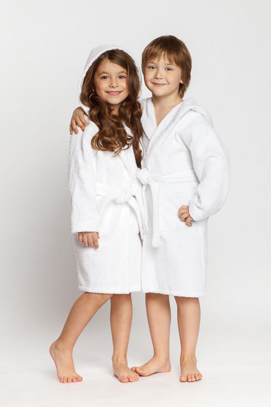 41d5a983b13a Белый детский махровый халат с капюшоном купить в интернет-магазине ...