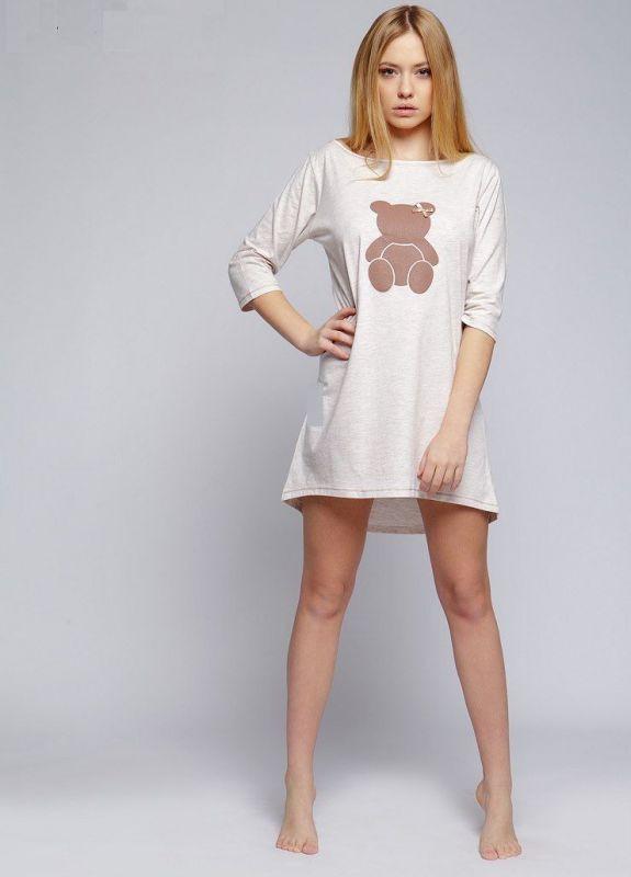 d4bd3ed1b96 Домашнее хлопковое платье-сорочка