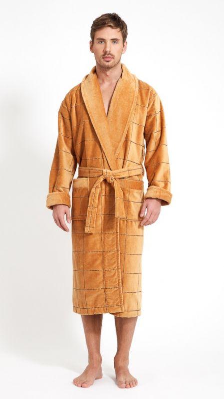 Золотой халат мужской