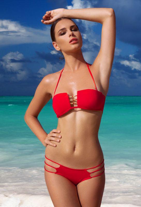 Красный купальник-бандо She купить в интернет-магазине Comfortstory 122ae55fdadc9