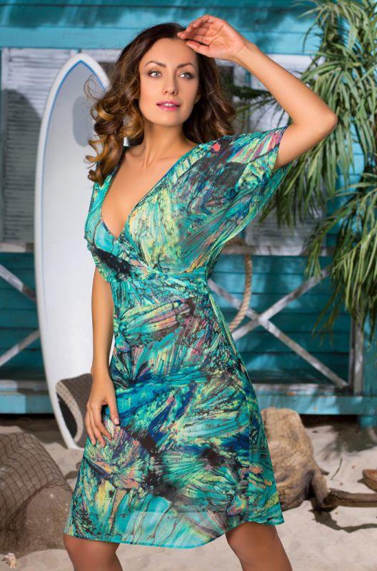 248f3982530 Летнее платье Mia-Mia с принтом купить в интернет-магазине Comfortstory