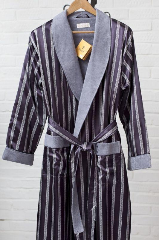 Шелковый мужской халат купить в москве