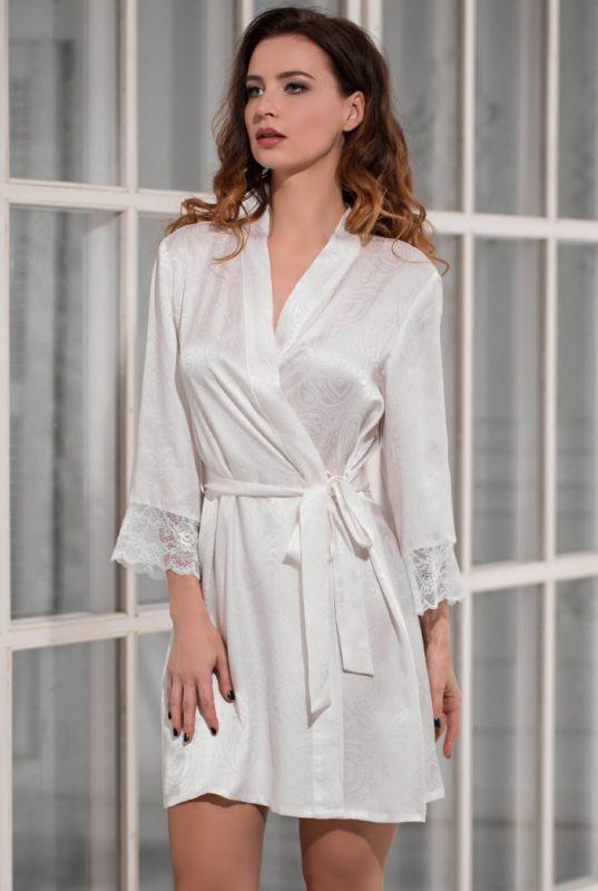 120684cb8eff2 Натуральный шелковый комплект Mia-Mia (халат и сорочка)