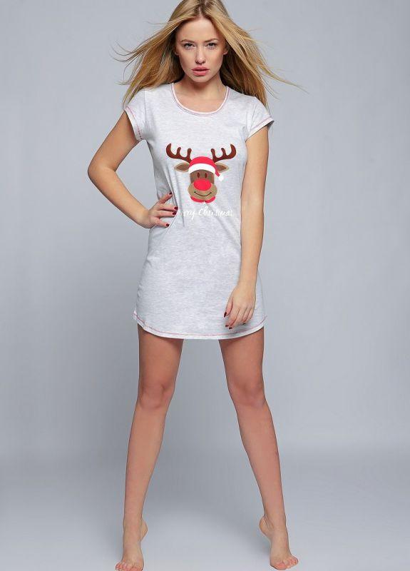 43c6b1efd11d3 Хлопковое платье-сорочка