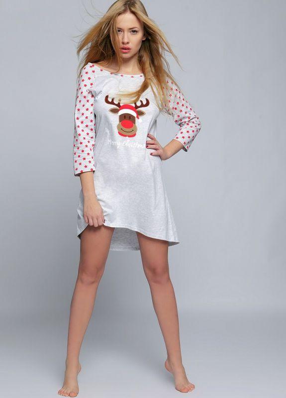 faf677a512e5e Хлопковое платье-сорочка в горошек